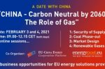"""The Role of Gas"" in Europe and China: EVENT VIDEO on security of supply, gas to power, competitive markets & renewable gases"