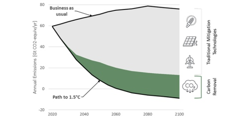 Comparing four Carbon Removal scenarios (IPCC, IEA, McKinsey, NGFS) and policy implications