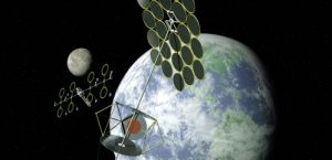 Solar power stations in space that beam uninterruptible power back to Earth